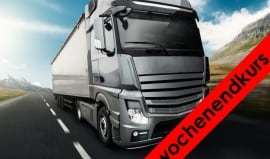 BerufskraftfahrerInnen Zusatz Güterbeförderung mit LAP